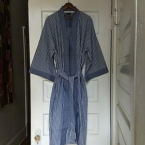 Christian Dior Monsieur Vintage Men's Cotton Robe